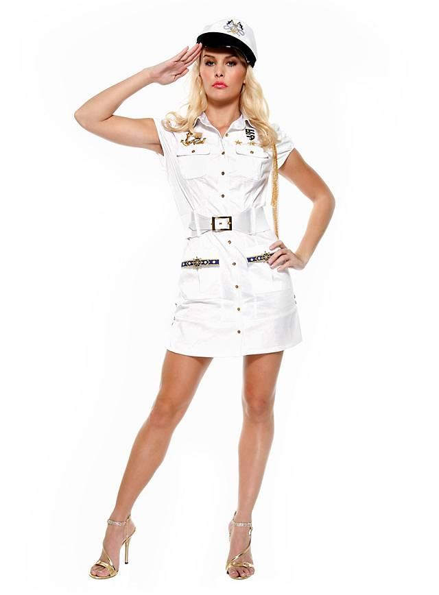 Sexy Navy Kadettin Kostüm