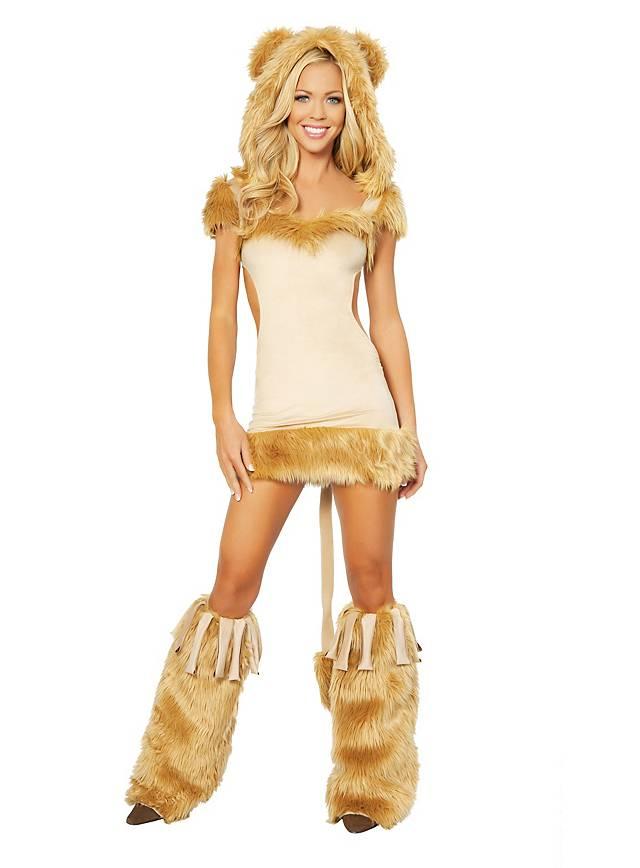 Sexy Partylöwin Kostüm