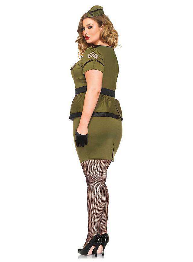 Sexy Pinup Commander Plus Size Costume Maskworldcom - What is invoice payment plus size online stores