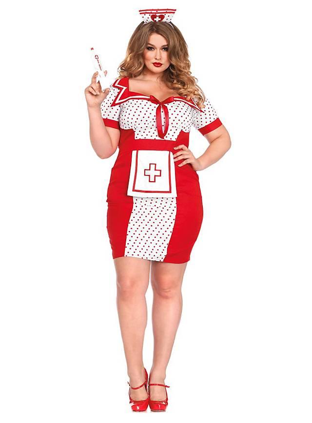 Sexy Pin-up Schwester XXL Kostüm