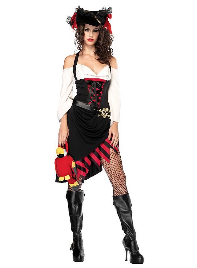 Sexy Piratengöre Kostüm