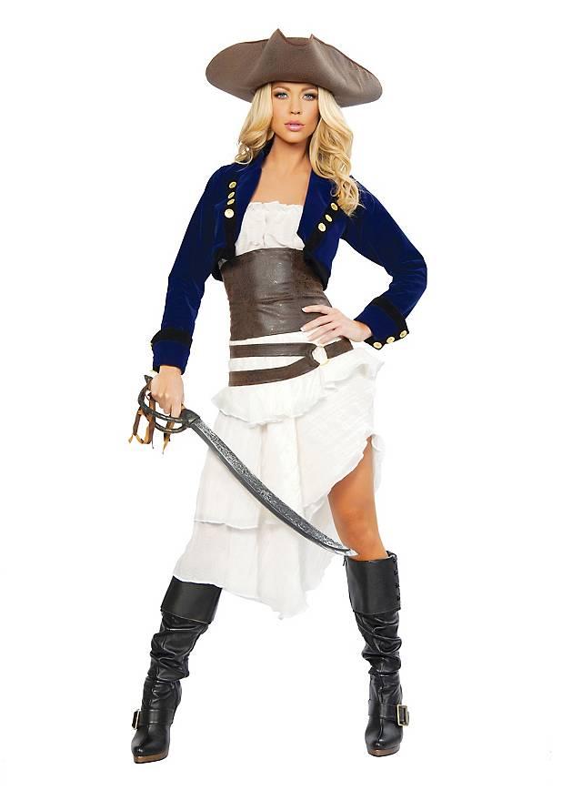 Sexy Piratenkommandantin Kostüm