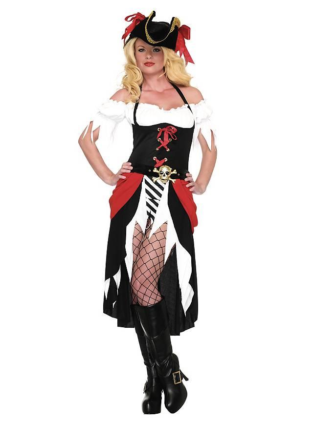 Sexy Piratenmagd Kostüm