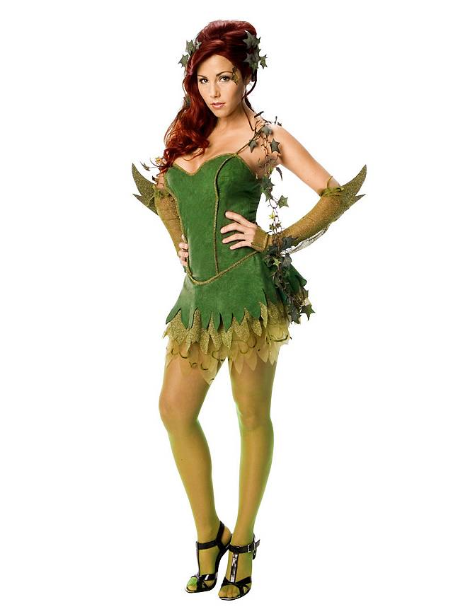 Sexy Poison Ivy Kostüm