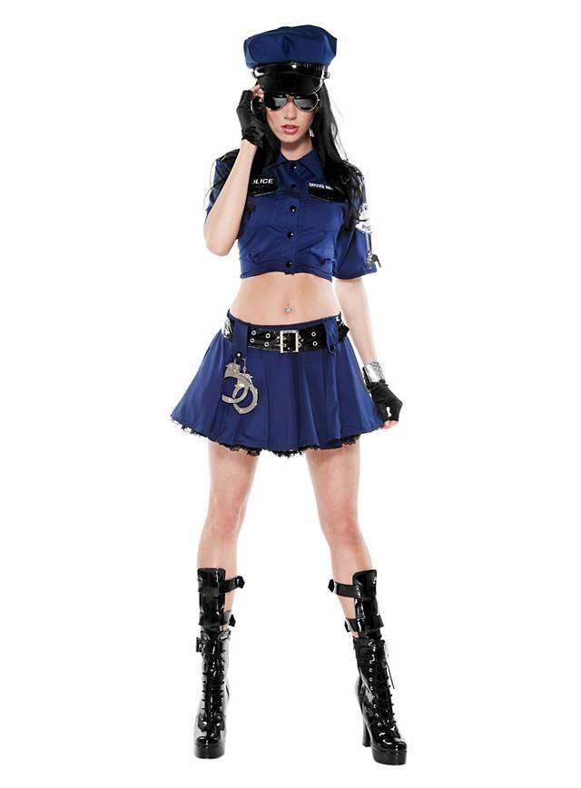 Sexy Polizistin Kostüm