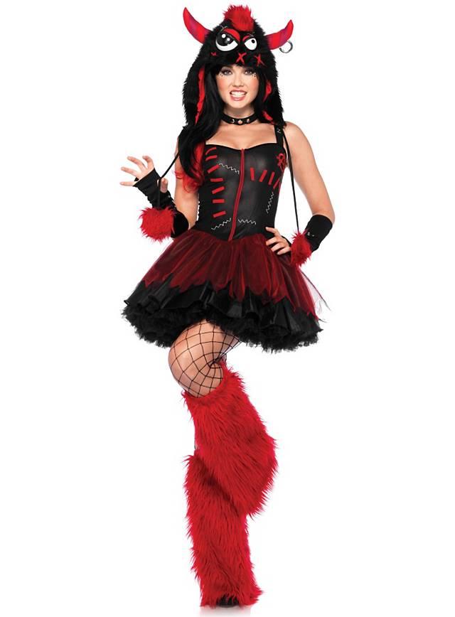 Sexy Punk Monster  Costume