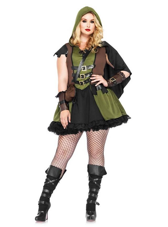 Sexy Rächerin XXL Kostüm