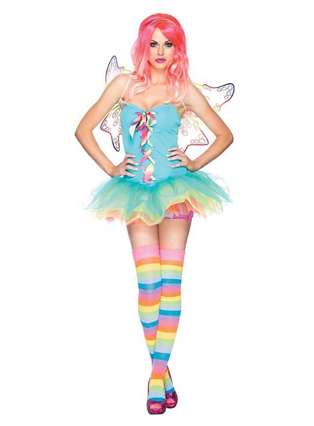 08ad9564375 Sexy Rainbow Fairy Costume - maskworld.com