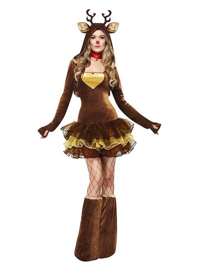Sexy Rentier Kostüm