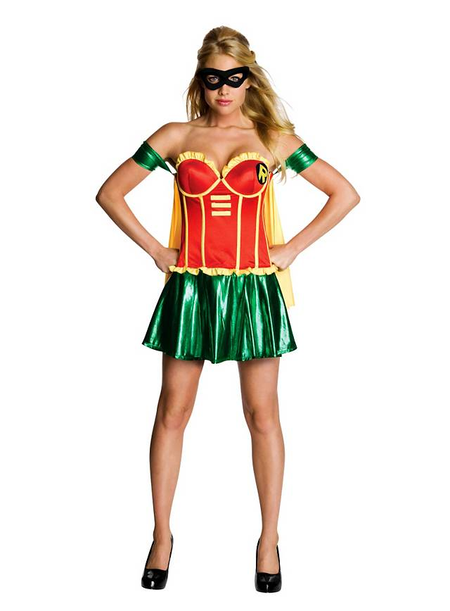 Sexy Robin Girl Costume  sc 1 st  Maskworld & Sexy Robin Girl Costume - maskworld.com