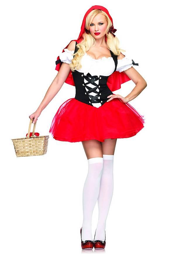 Sexy Rotkäppchen romantisch Kostüm