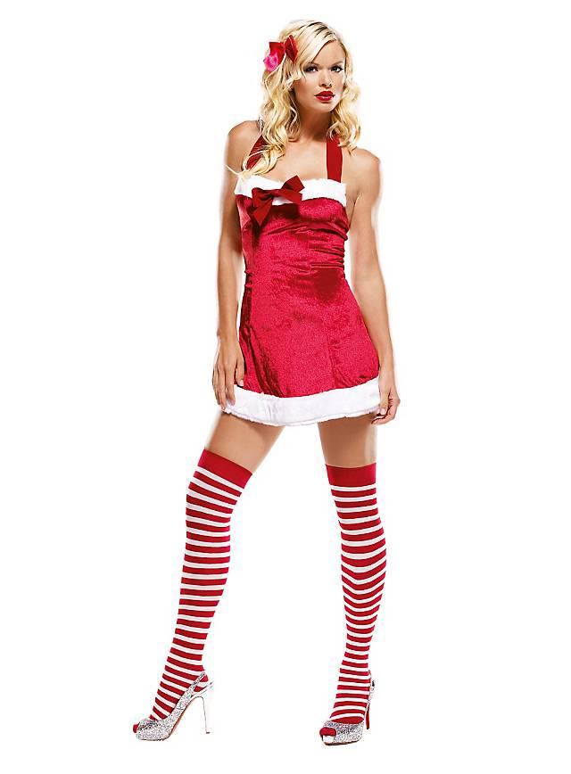 Sexy Santakleid Kostüm