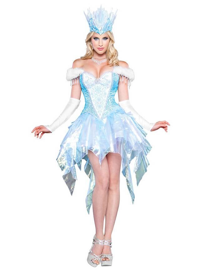 Sexy Schneekönigin Kostüm