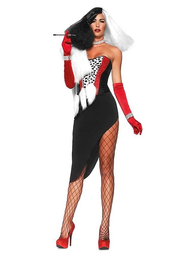 Sexy Schurkin Kostüm