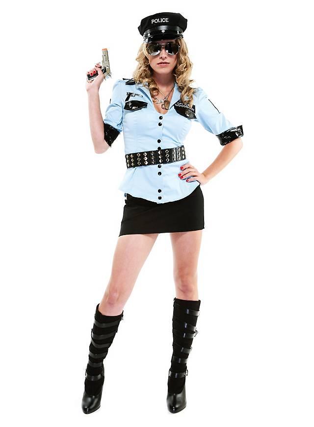 Sexy Schutzpolizistin Kostüm