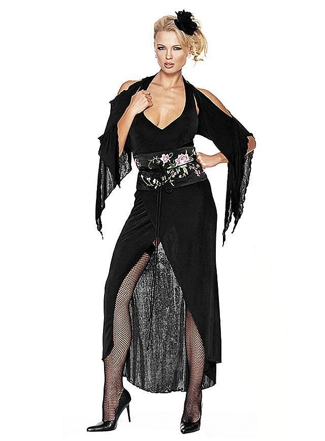 Sexy Schwarze Witwe Kostüm