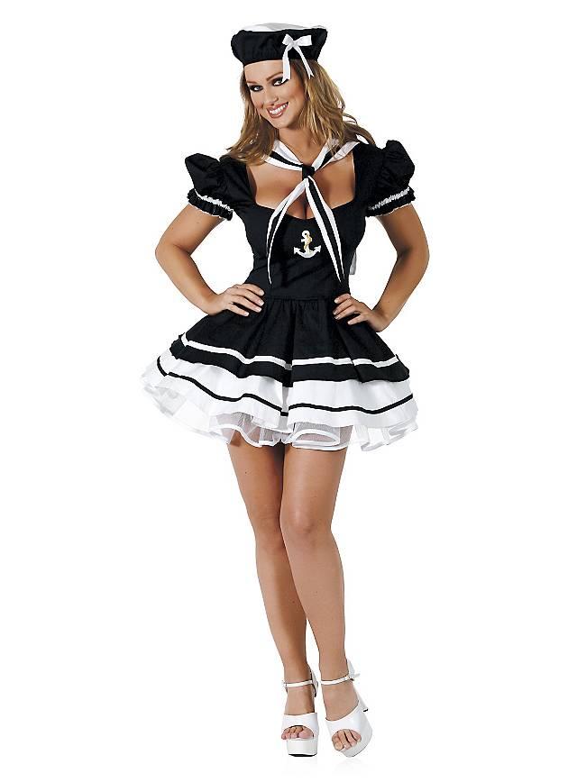 Sexy Seefahrerin Kostüm