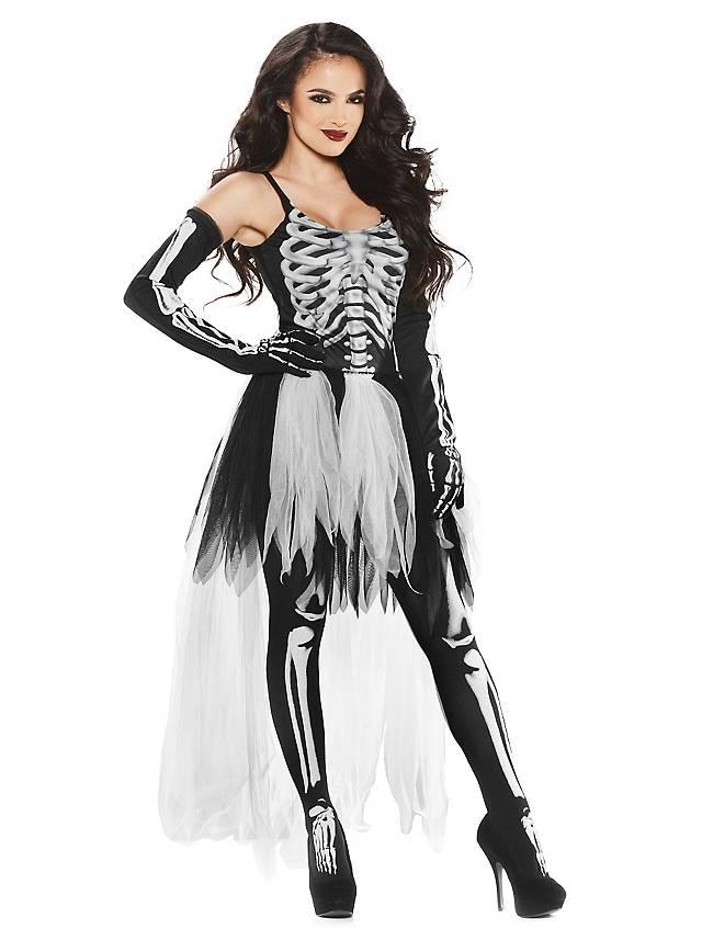 Sexy Skelett Kleid