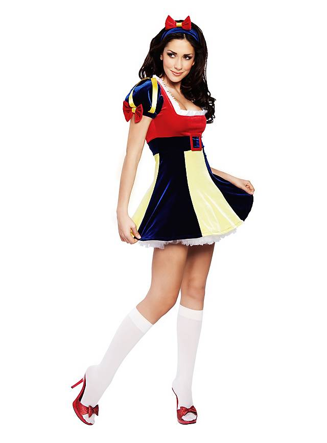 Sexy Snow White Deluxe Costume