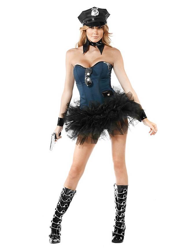 Sexy Spezialeinheit Kostüm