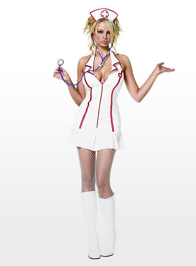 Sexy Stationsschwester Kostüm