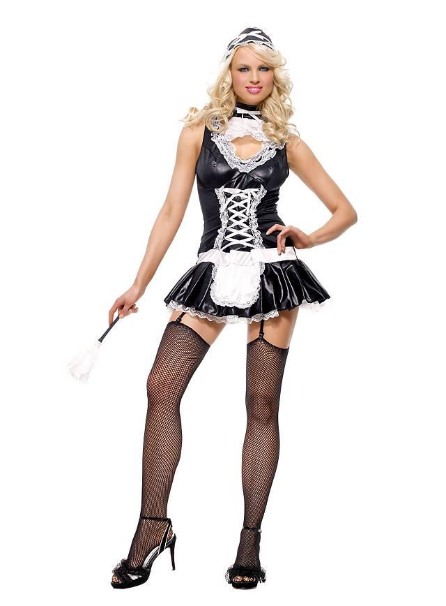 Sexy Stubenmädchen Kostüm