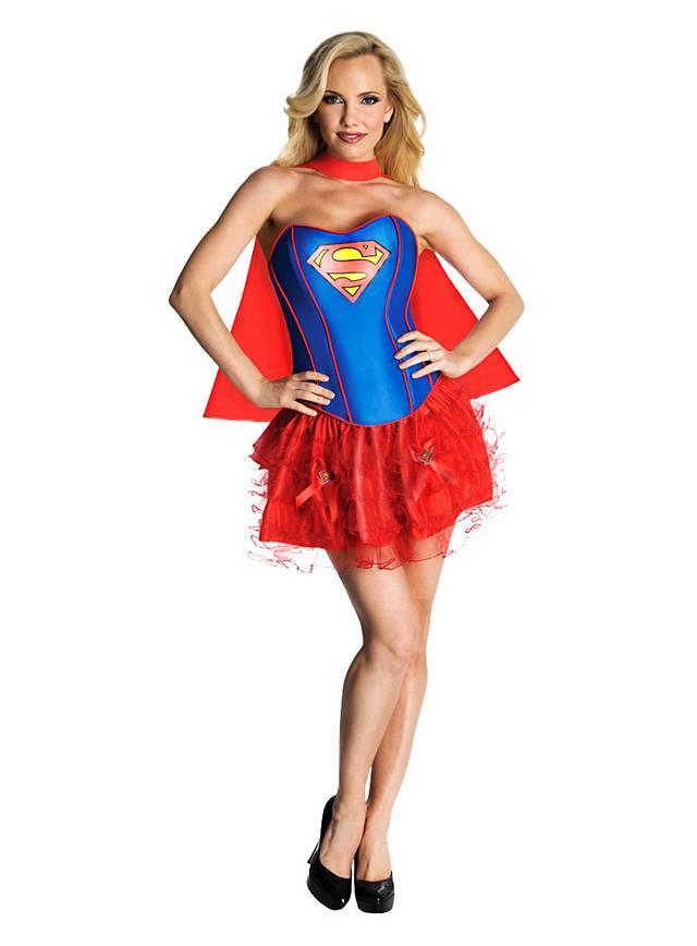 Sexy Supergirl Kostüm