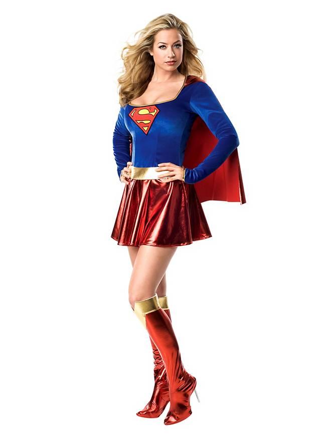 sexy superhero supergirl dress maskworldcom