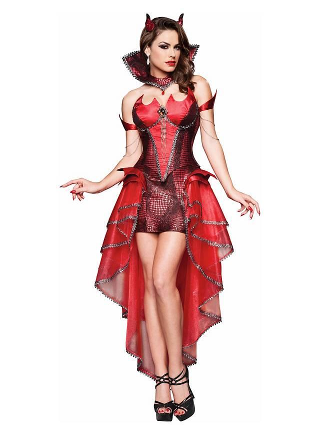 Sexy Teufelin Kostüm