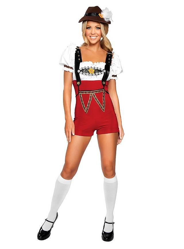 Sexy Tiroler Madl Kostüm