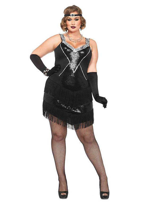 0d9b1d0be5b Sexy Twenties Plus Size Costume - maskworld.com