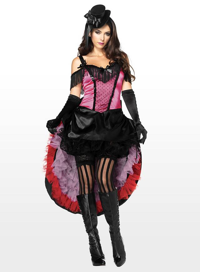 Sexy Varieté Tänzerin Kostüm