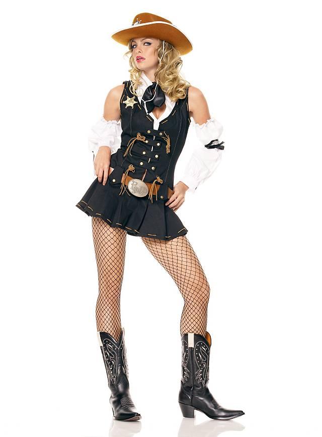 Sexy Wild West Sheriff Kostüm