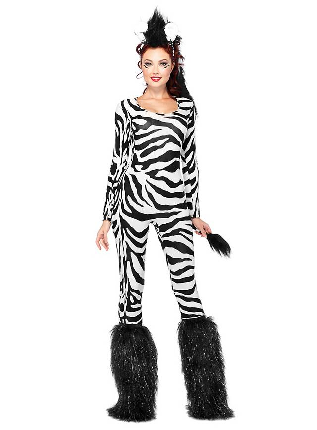 Sexy Wild Zebra Costume