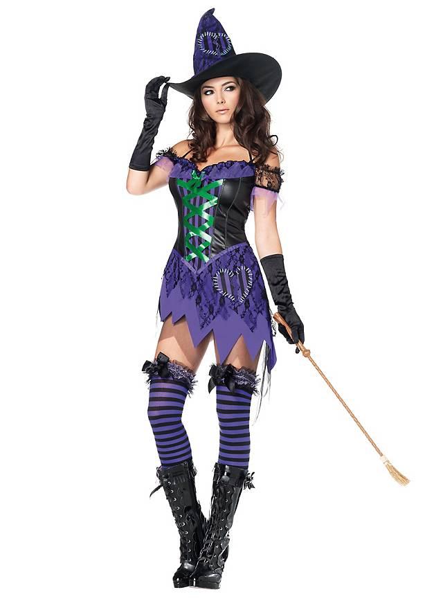 Sexy Zauberin Kostüm