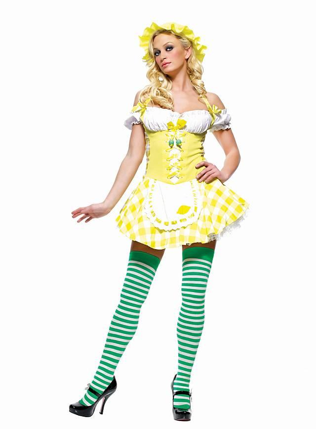 Sexy Zitrone Kostüm