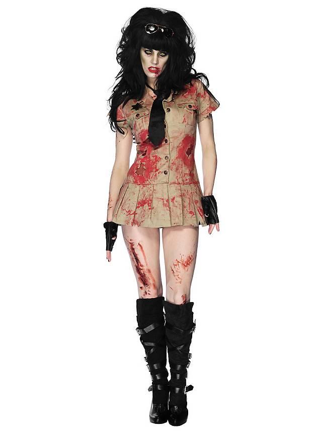 Sexy Zombie Police Girl