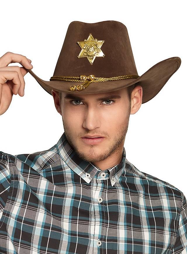 Sheriffhut braun