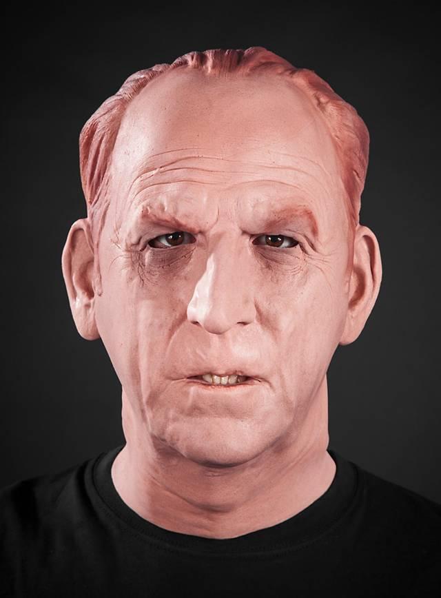 Sherlock Holmes Maske aus Schaumlatex