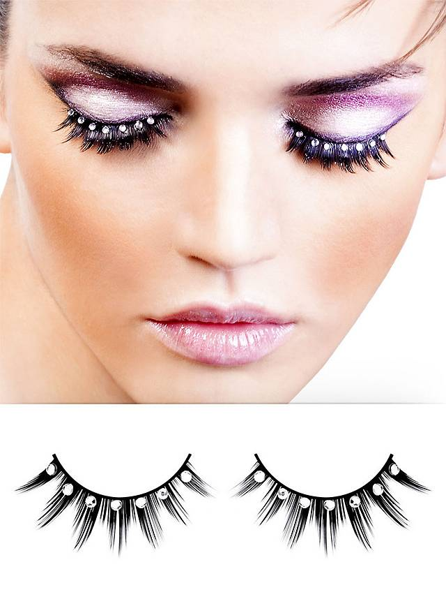 Shiny False Eyelashes