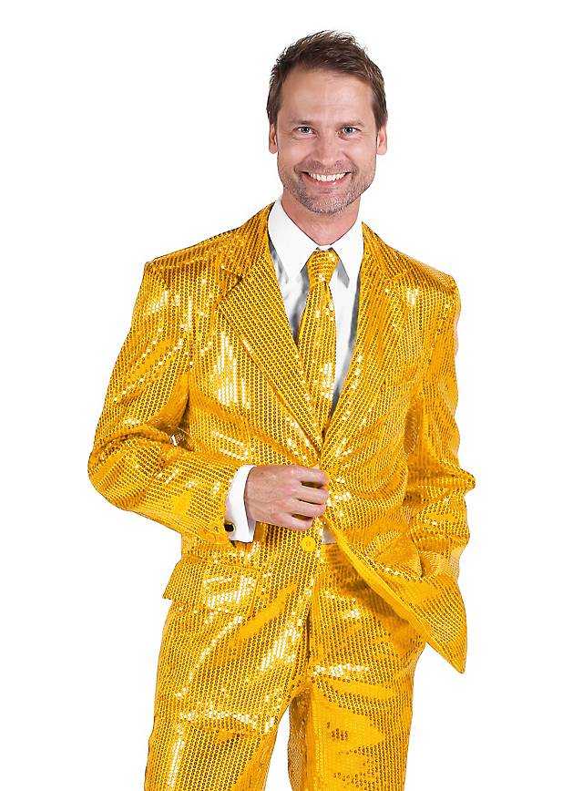 Show host jacket gold