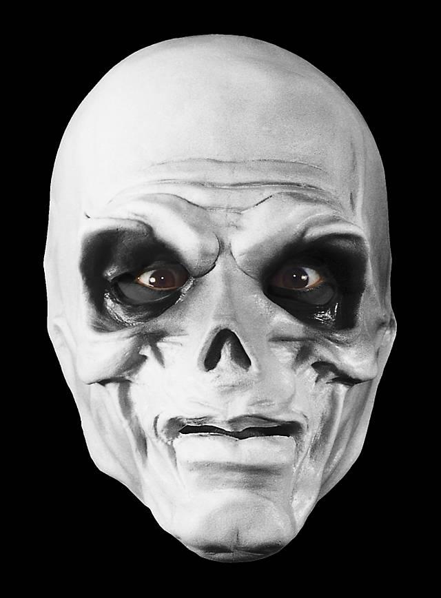 Skelett Maske aus Schaumlatex