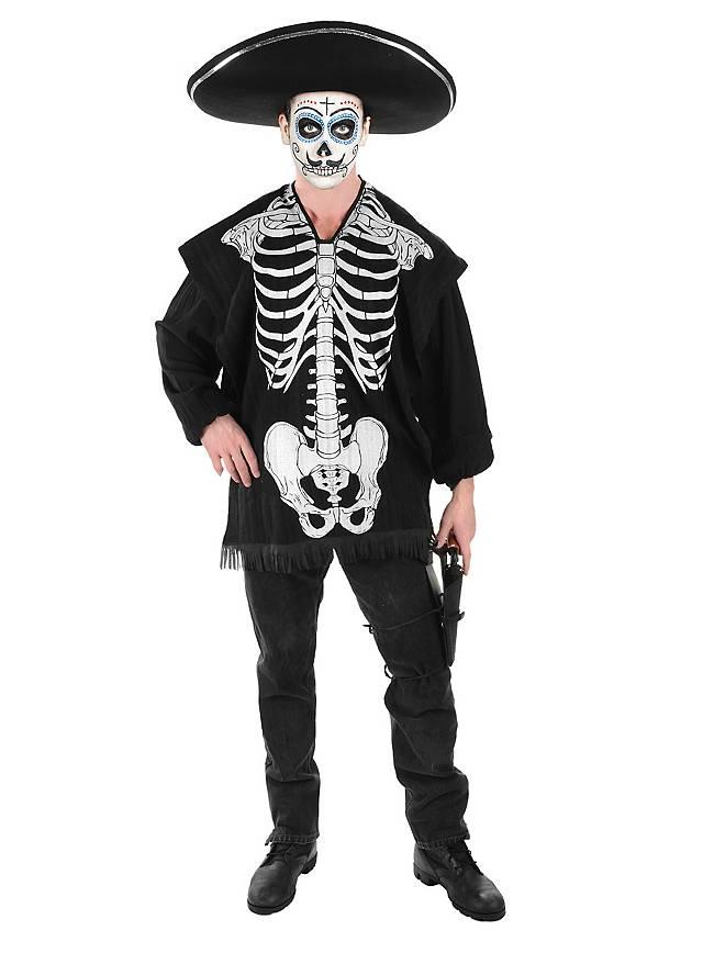 Skelett Poncho
