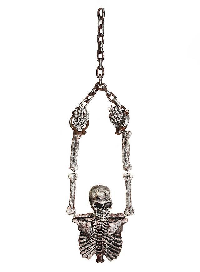 skelett torso in ketten h ngedekoration. Black Bedroom Furniture Sets. Home Design Ideas