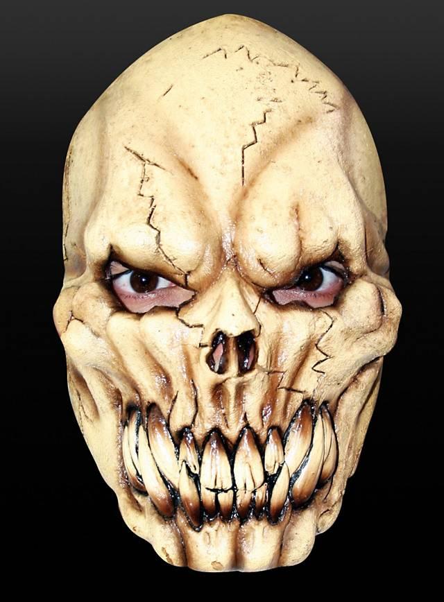 Skelettmaske Maske aus Latex