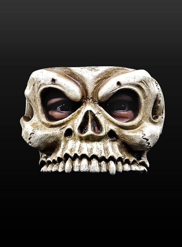 Skelettschädel Maske