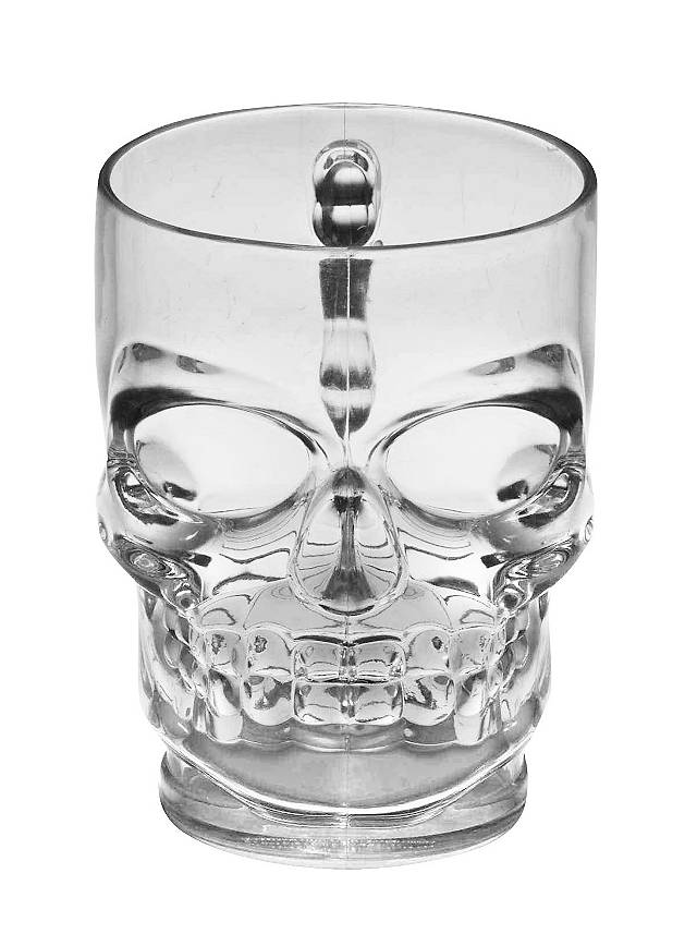 Skull Mug Halloween Decoration
