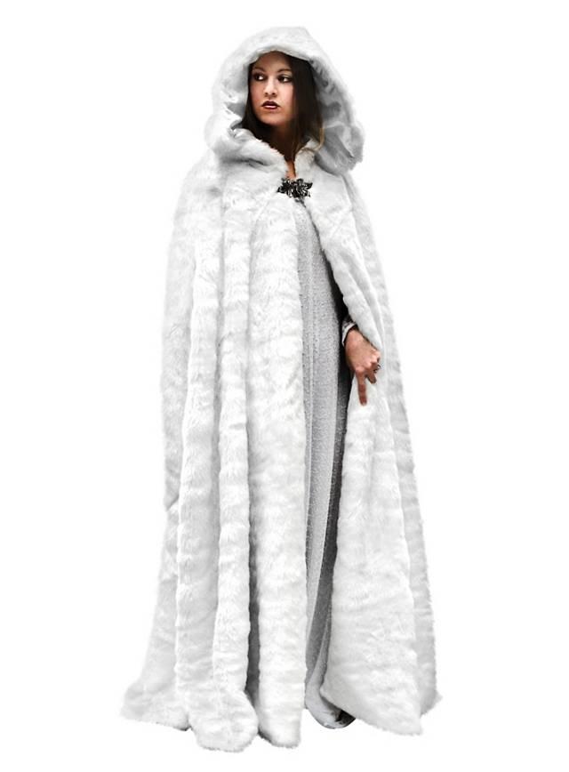 Snow Queen Cape