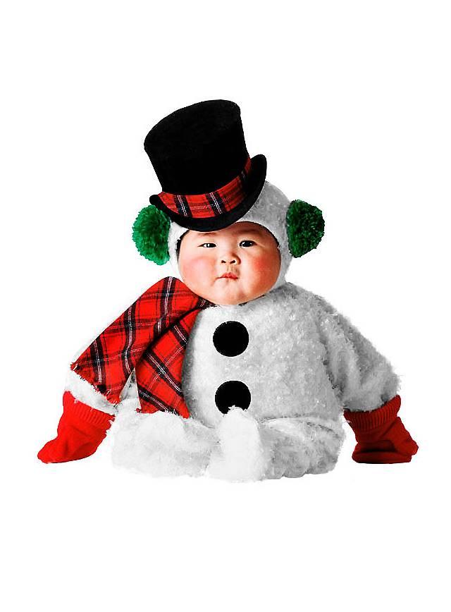 Snowman Infant Costume