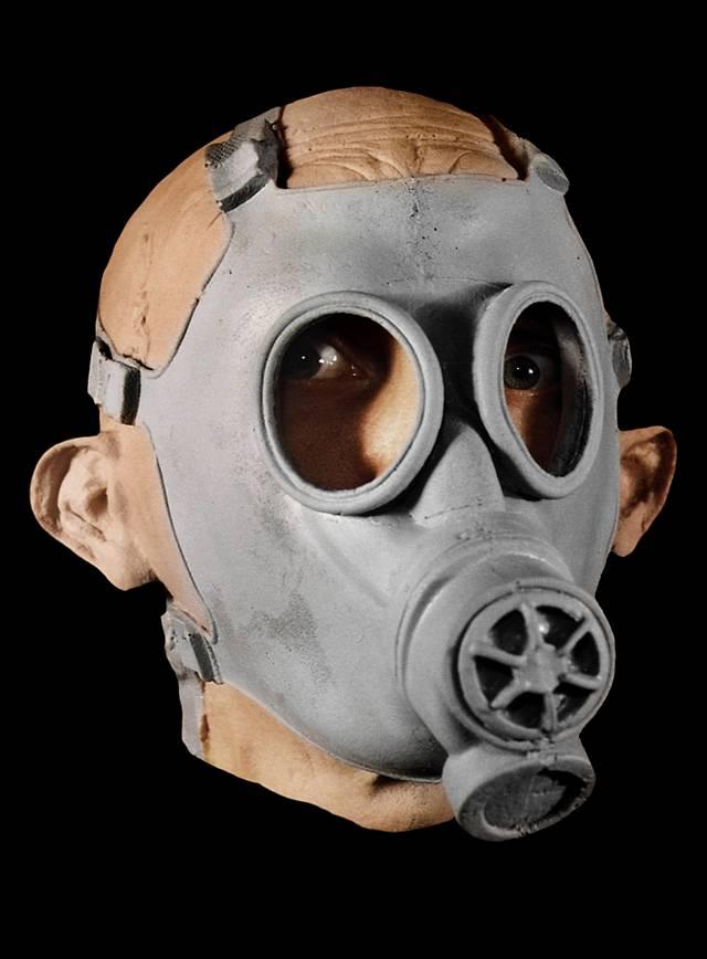 Soldat Maske aus Schaumlatex